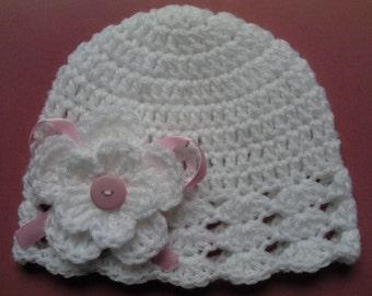 Crochet Baby Kids Toddler Hat Beanie children gift girl