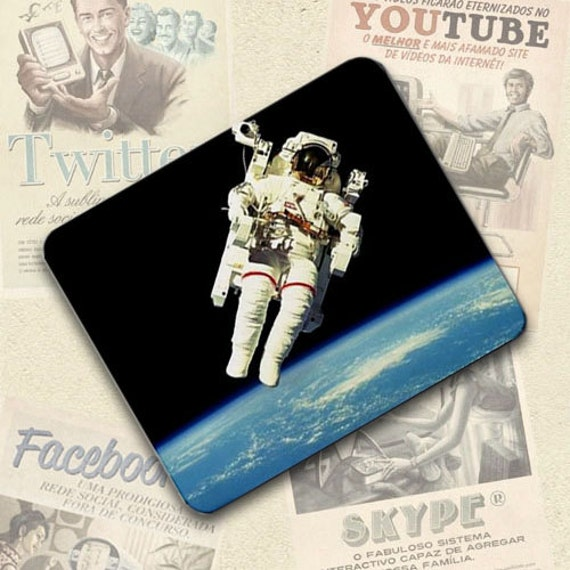 Nasa Astronaut in space Mousepad Mouse Pad Great Gift Idea
