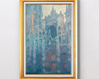 Claude Monet - The Portal of Rouen Cathedral in Morning Light - Fine Art Glicée - 1894 - SKU 0095