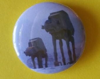 "Star Wars  AT-AT 1""  Button"
