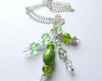 The Lime Necklace - The Mollie Collection