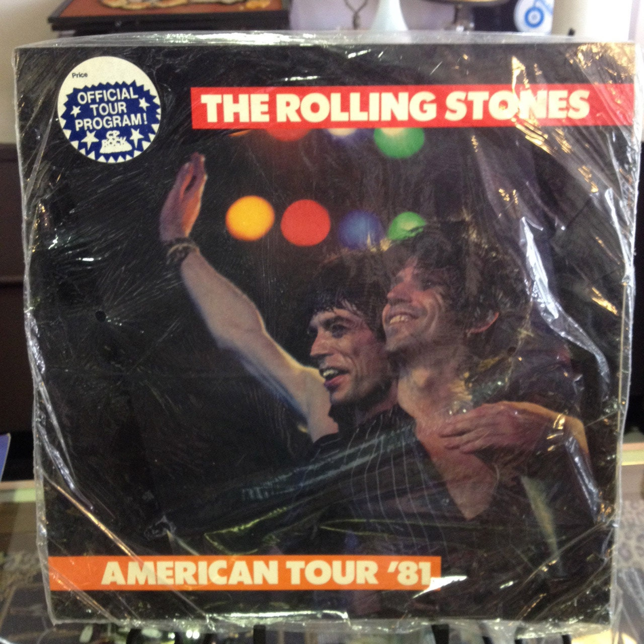 the rolling stones american tour 1981 vintage concert program. Black Bedroom Furniture Sets. Home Design Ideas