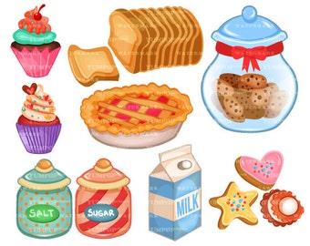 Bakery clipart | Etsy | {Französische küche clipart 60}
