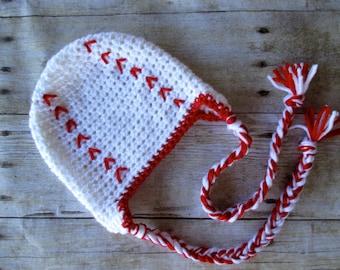 Newborn baseball Hat, Baby Baseball Hat, Baby Sports Hat, Crochet Baseball Hat, Newborn Sport Hat, Baby Baseball, Baseball Hat, Sport Hat