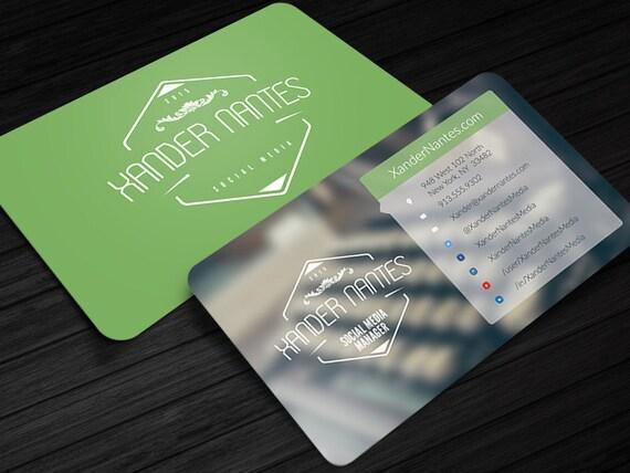 social media designer business card photoshop psd template. Black Bedroom Furniture Sets. Home Design Ideas