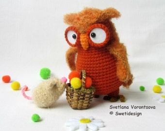 Owl Bridget , crocheted