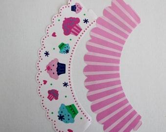Pink Cupcake Treat Wraps
