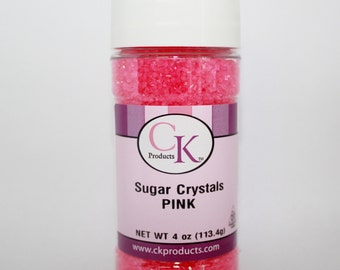 Pink Sugar Crystals