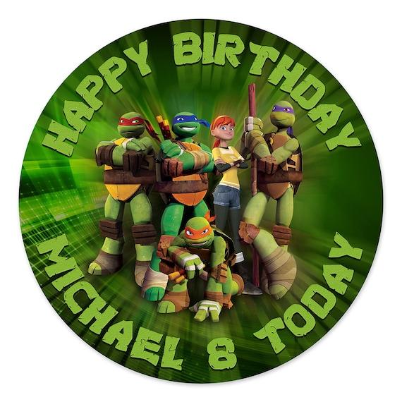 Teenage Mutant Ninja Turtles Cake Topper by ...