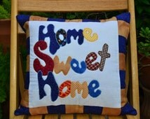 """Quilted Cushion, 100% cotton,16 x 16"""""""
