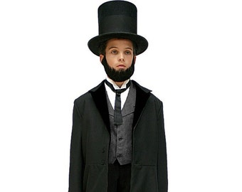 Children's Abraham Lincoln Costume - Famous Presidents and Historical Figures Costumes - Colonial & Victorian Clothing for Children