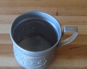 "1930""s-40""s aluminum childs circus cup"