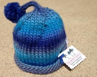 Baby Boy Pom Pom Hat
