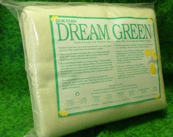 Quilters Dream Green Quilt Batting All Sizes