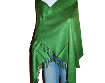 Drgreen Women's Solid Color Pashmina Shawl Wrap Stole Scarf