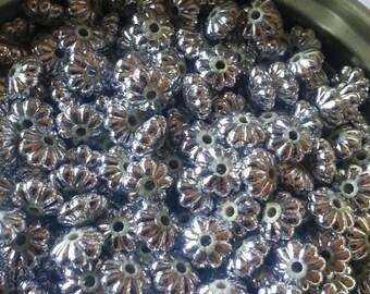Acrylic Flower Spacer Bead