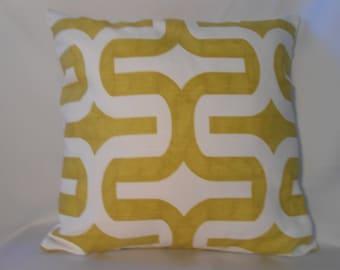 16 x 16 Embrace/Artist Green Pillow Cover