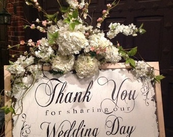 thank you sign for weddings wedding thank you sign thank you sign thank