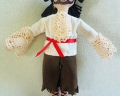 Pirate Doll - OOAK Child Friendly Doll