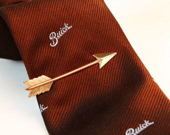 ROSE GOLD Arrow SHAFT Tie Bar