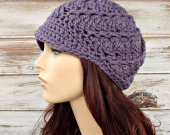Instant Download Crochet Pattern - Crochet Hat Pattern for Pippa Swirl Beanie Hat Pattern - Womens Hat Pattern - Womens Accessories