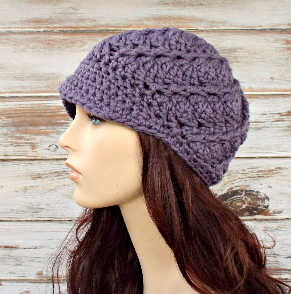 Crochet Hat Pattern Download : Instant Download Crochet Pattern Crochet Hat Pattern for