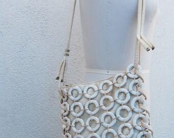 chain link MOD circles italian bag