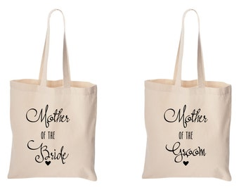 mother of the bride and mother of the groom bag set totes