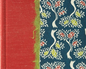 Photo Album Green and Red Trees - great for Wedding Photo Album, Birthdays, Showers and Scrapbook Album