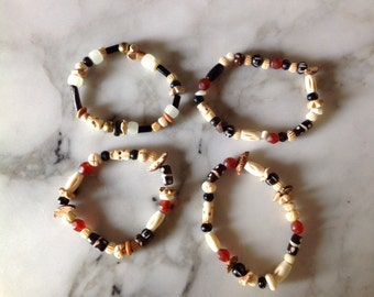 Bone Skull Bracelets, Glow in the Dark