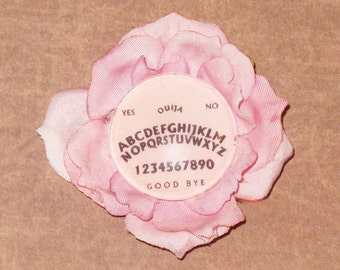 Ouija Board rose hair clip