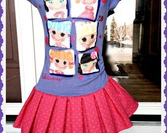 girls LaLaLoopsy dress loopsy 4 ready to ship today