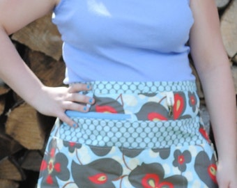 Amy Butler Blue Vendor/Craft Apron