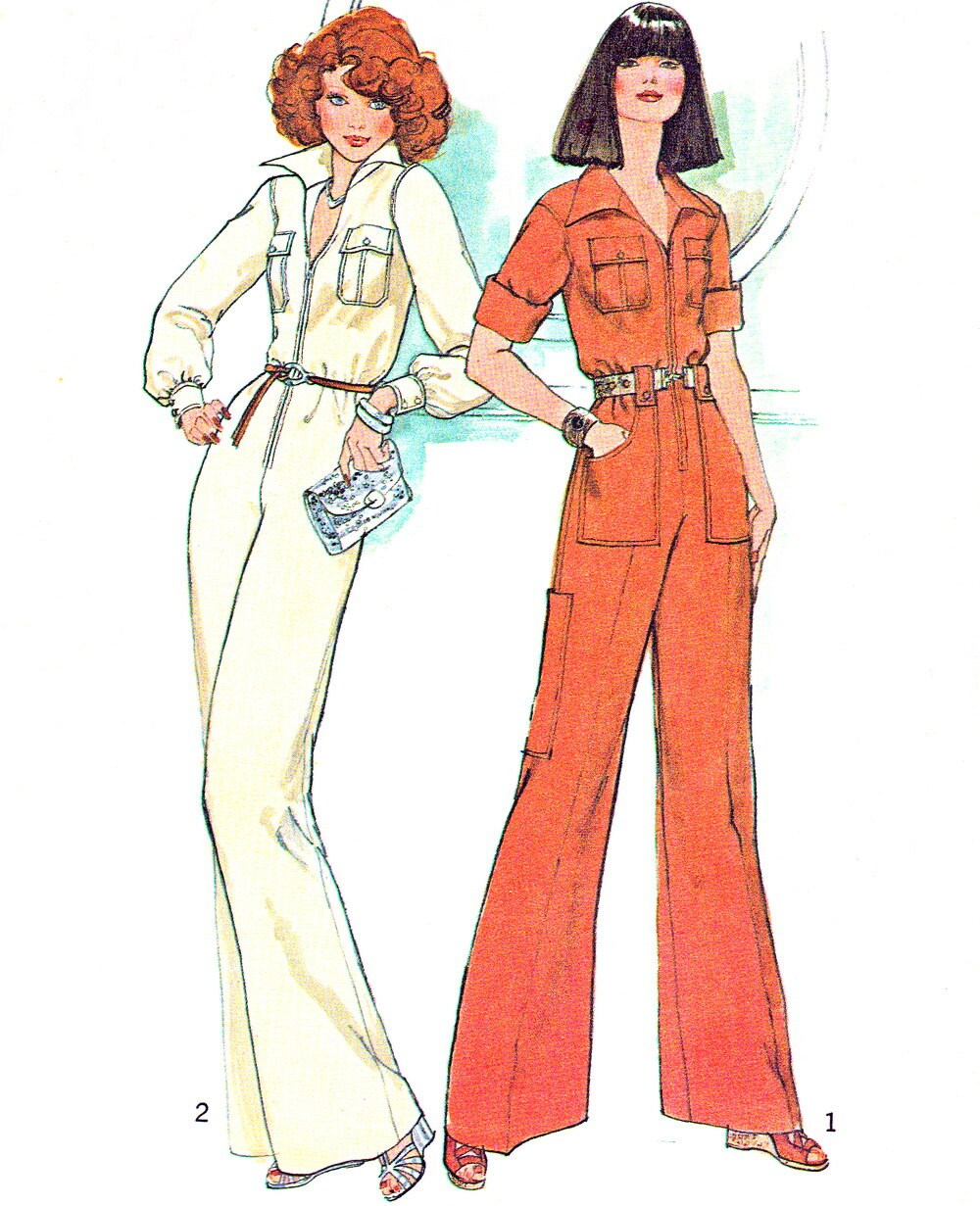 Beautiful 1970s Jumpsuits And Fashion? Still Relevant?