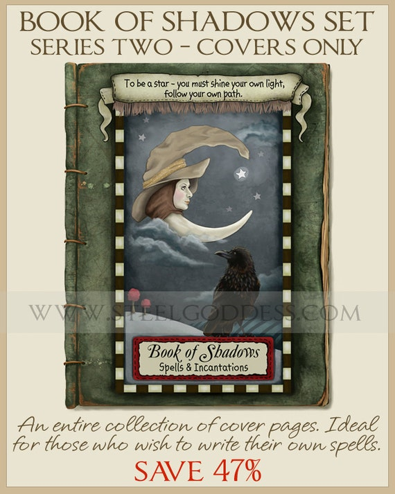 Book Cover Series Y Novelas ~ Series complete set book of shadows cover by steelgoddess
