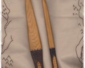 """Athame Wand Set Prim All Cedar Wood Witch Wizard Pagan Wiccan """"The Greenwood Traveler"""" OOAK"""