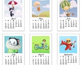 2014 Cat Mini Desk Calendar by Geri Shields