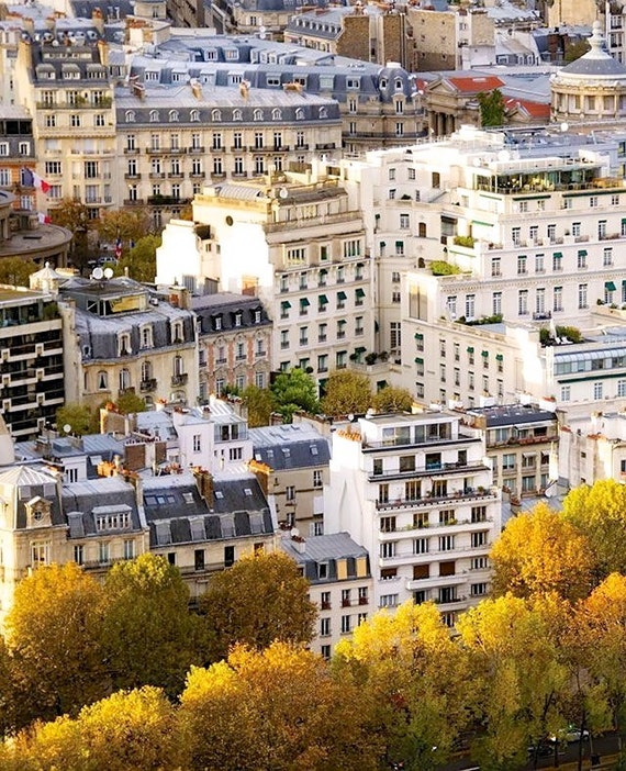 """Paris Photography, """"Paris Fall"""" Paris Print Extra Large Wall Art Prints, Paris Wall Decor, Apartment Art"""
