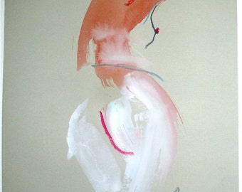 Nude painting- One minute pose 70.5 by Gretchen Kelly