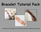Bracelet Tutorial Pack - Wire Jewelry Tutorials - Save 30%