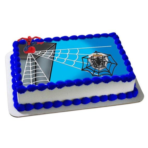 Spiderman Web Slinger Cake Topper