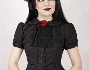 Dark Rose Cravat