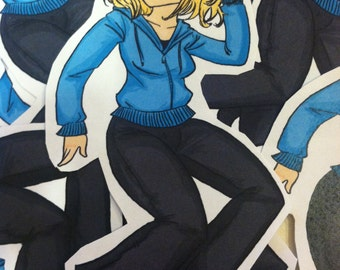 Doctor Who Sticker Rose Tyler