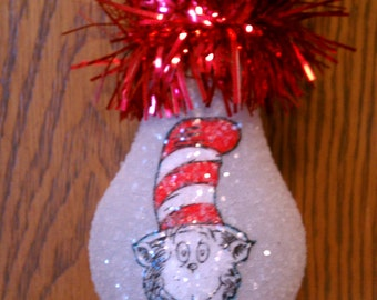 Dr. Suess keepsake light-bulb ornament