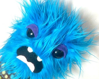 Stuffed Monster - Weird Plush Furry Handmade Toy