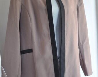 Vintage 80's Duster Jacket Sportswear long blazer