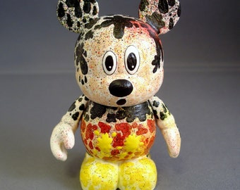 "Paint Splatter Mouse 3"" Custom Vinylmation"