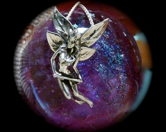 Sterling Silver Fairy Queen with Sceptre - Free Shipping
