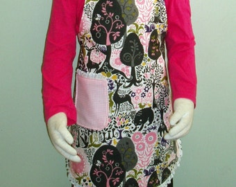 Fancy Children's or Toddler's Size Adjustable Apron