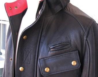 Retro Leather Jackets---Handmade, Completely Custom